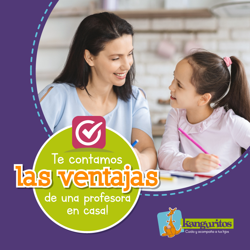 ¡Te contamos las ventajas de una profesora en casa!